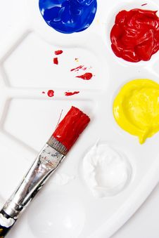 Free Paintbrush Stock Photography - 1764582