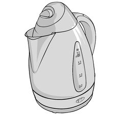 Free Kettle BW Royalty Free Stock Photo - 1765585