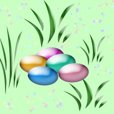 Free Easter Egg Hunt Art Royalty Free Stock Images - 1765959