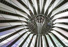 Sony Center Berlin Royalty Free Stock Photos