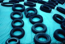 Free Tires Royalty Free Stock Photography - 1767087