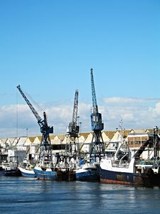 Free Fishing Vessels. Royalty Free Stock Photography - 1767277
