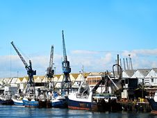 Free Trawler Boats In The Dock. Royalty Free Stock Photography - 1767297