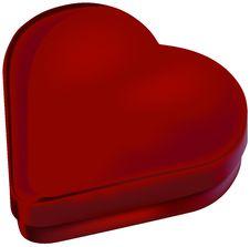 Free Heart Box Royalty Free Stock Photos - 1767558