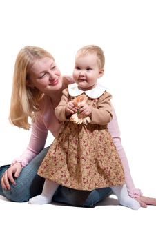 Free Mother And Daughter Royalty Free Stock Photos - 1768598