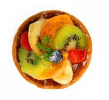 Fruits Tart Stock Photos