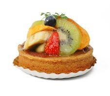 Fruits Tart Stock Images