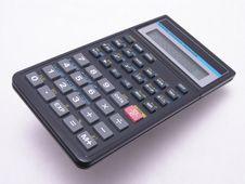 Scientific-Stat Calculator 2 Royalty Free Stock Photos