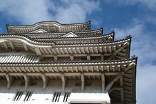 Free The Sky Of Himeji Castle 01 Royalty Free Stock Images - 1769659
