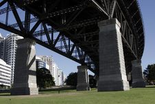 Under The Sydney Harbour Bridge Stock Photos