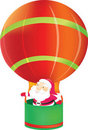 Free Santa Claus In Balloon Stock Photography - 17600812