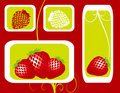 Free Abstract Fruit Illustration Strawberry  Red Royalty Free Stock Photos - 17606698
