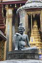 Free Statue On Entrance In Royal Palace, Bangkok Royalty Free Stock Image - 17609296