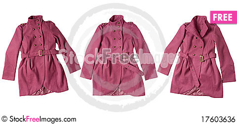 Free Pink Coat Royalty Free Stock Image - 17603636