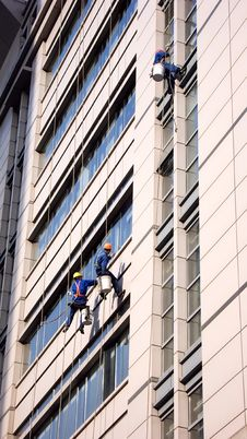 Free Building Cleaning In Shanghai Royalty Free Stock Photo - 17600165