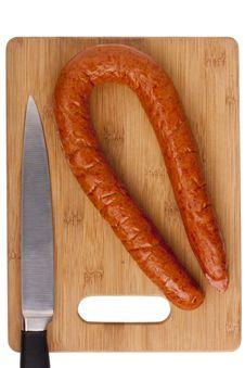 Free Smoked Sausage Stock Images - 17600604