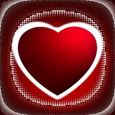 Heart (dots Design Series). EPS 8 Royalty Free Stock Photography