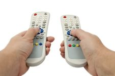 Free TV Remote Royalty Free Stock Image - 17602626