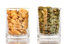 Free Peanuts And Sunflower Seeds Stock Photo - 17603320