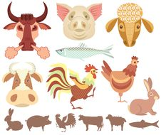 Free Farm Animals Stock Image - 17603351