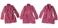Free Pink Coat Royalty Free Stock Image - 17603636