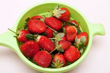 Free Ripe Red Strawberries Royalty Free Stock Image - 17604026