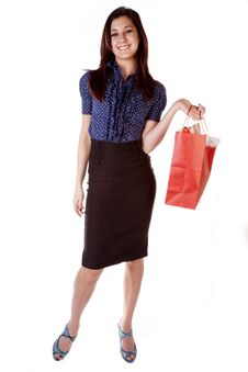 Free Happy Shopper Stock Photos - 17605843