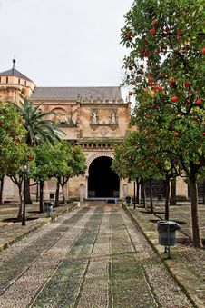 Free Cordoba, The Cathedral Mosque Entrance Royalty Free Stock Photography - 17605937