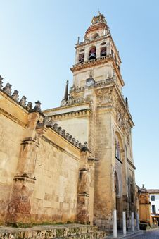 Free The Mosque Alminar From The Outside In Cordoba Stock Image - 17606001