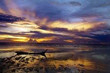 Free Sunset Royalty Free Stock Photo - 17606115
