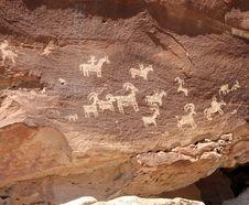 Free Petroglyph Stock Image - 17606201