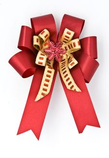 Free Gift Bow Royalty Free Stock Photography - 17606397