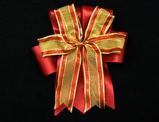 Free Gift Bow Royalty Free Stock Photo - 17606475