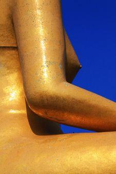 God Of Buddhist Royalty Free Stock Image