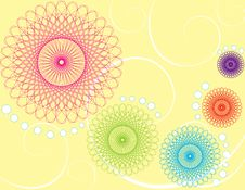 Free Abstract Color Illustration Royalty Free Stock Photography - 17606777