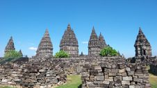Free Prambanan Temple Compounds Royalty Free Stock Images - 17606779