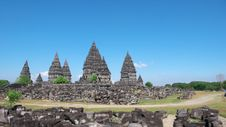 Free Prambanan Temple Compounds Royalty Free Stock Photography - 17606817