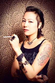 Free Tattoo Princess Royalty Free Stock Image - 17606926
