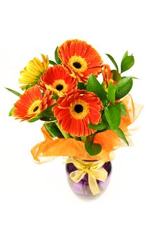 Free Gerberas  Bouquet Stock Photo - 17606960