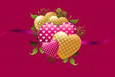 Free Hearts Stock Image - 17607681