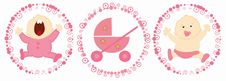 Free Babies Labels - Girl Stock Photography - 17607762