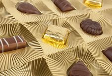 Free Box Of Chocolates Royalty Free Stock Photo - 17608615