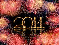 Free Sparkling 2011 Stock Photos - 17608643