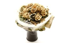 Dried Bunch Of Roses Royalty Free Stock Images
