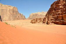 Wadi Rum Desert Stock Images