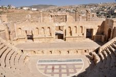 Free Theater In Jerash Royalty Free Stock Image - 17609826