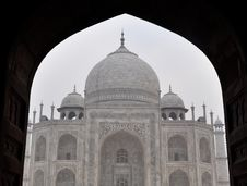 Free Taj Mahal Royalty Free Stock Photos - 17609858
