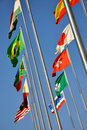 Free Different National Flags Under Sky Stock Photo - 17615790