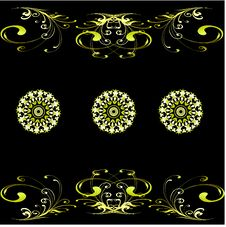Free Vector Eps10. A Monophonic Background Of Wallpaper Royalty Free Stock Photography - 17610767