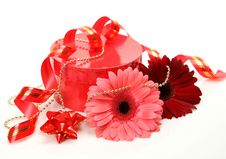 Free Gift And Flower Stock Photos - 17610913